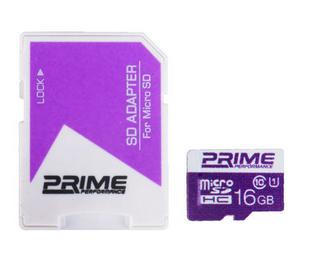 کارت حافظه (رم) microSDHC پرایم سرعت ۸۵MBps ظرفیت 16 گیگابایت